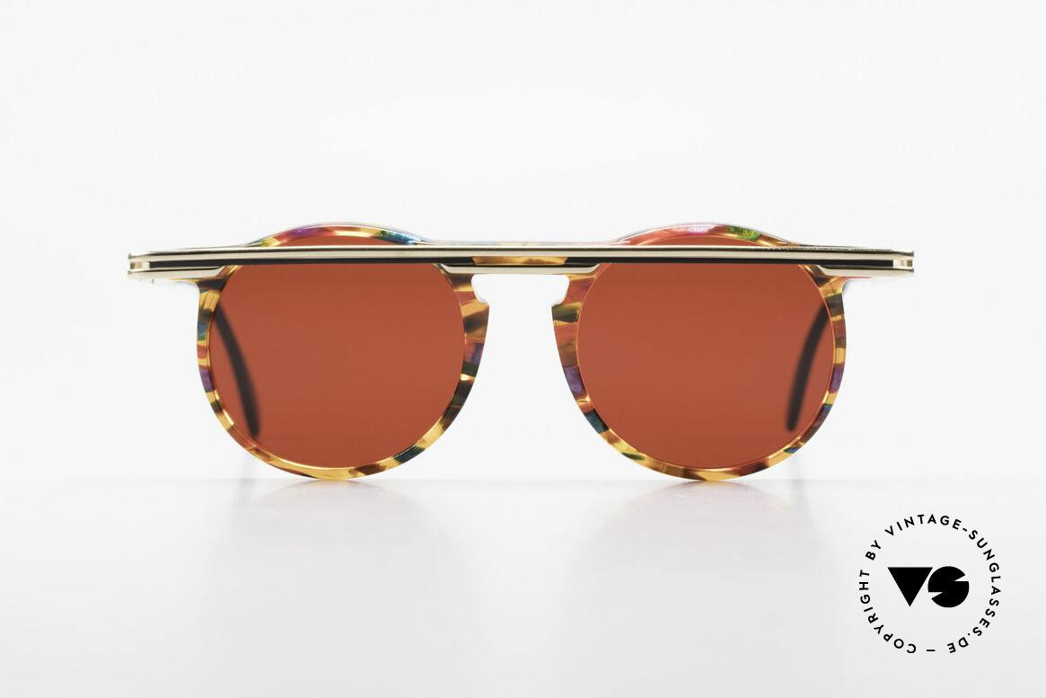 Cazal 648 Original Alte Cazal Brille 90er, vom Designer Cari Zalloni getragen (siehe Booklet), Passend für Herren und Damen