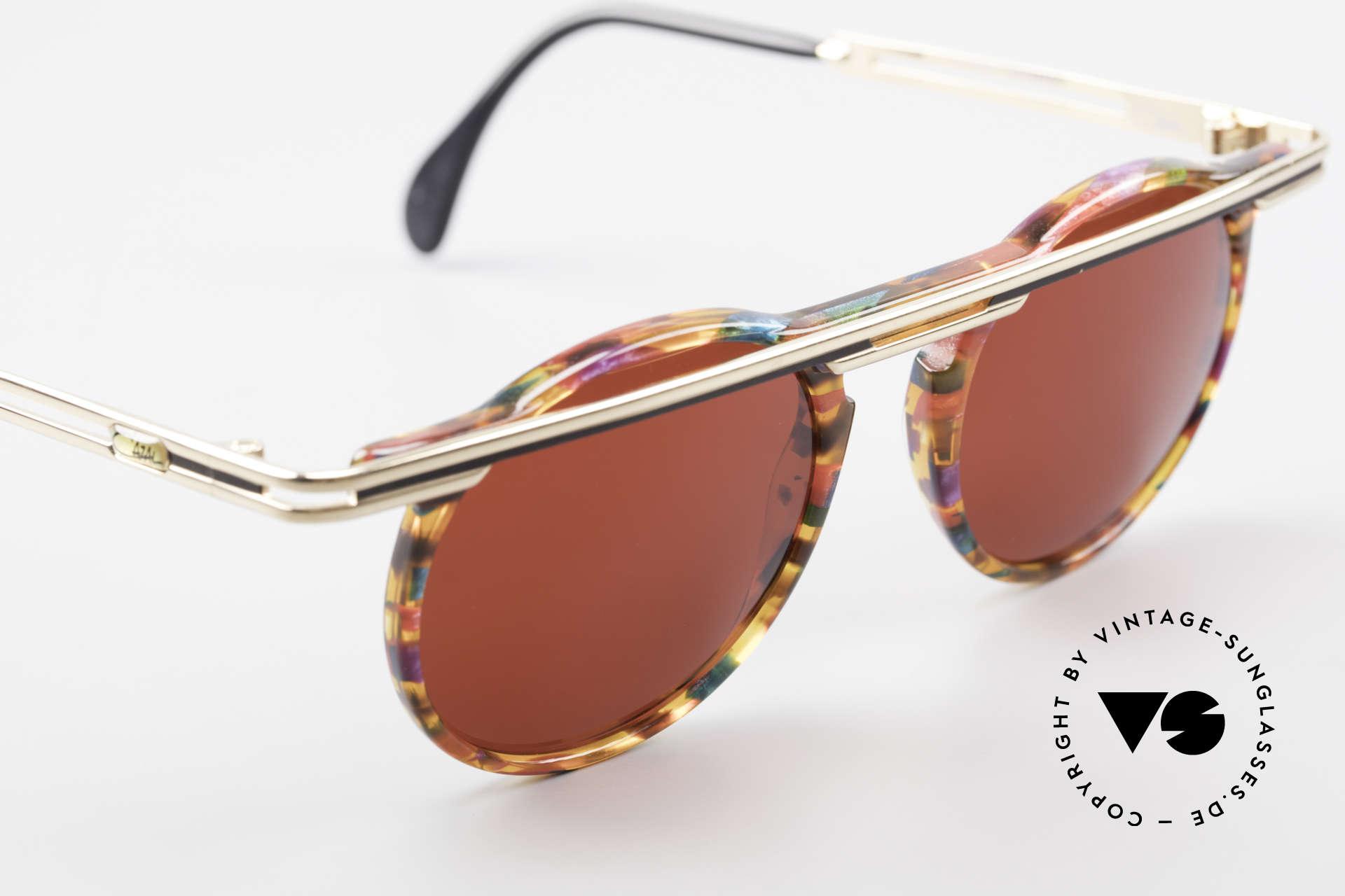 Cazal 648 Original Alte Cazal Brille 90er, ungetragen (wie alle unsere vintage Cazal Brillen), Passend für Herren und Damen