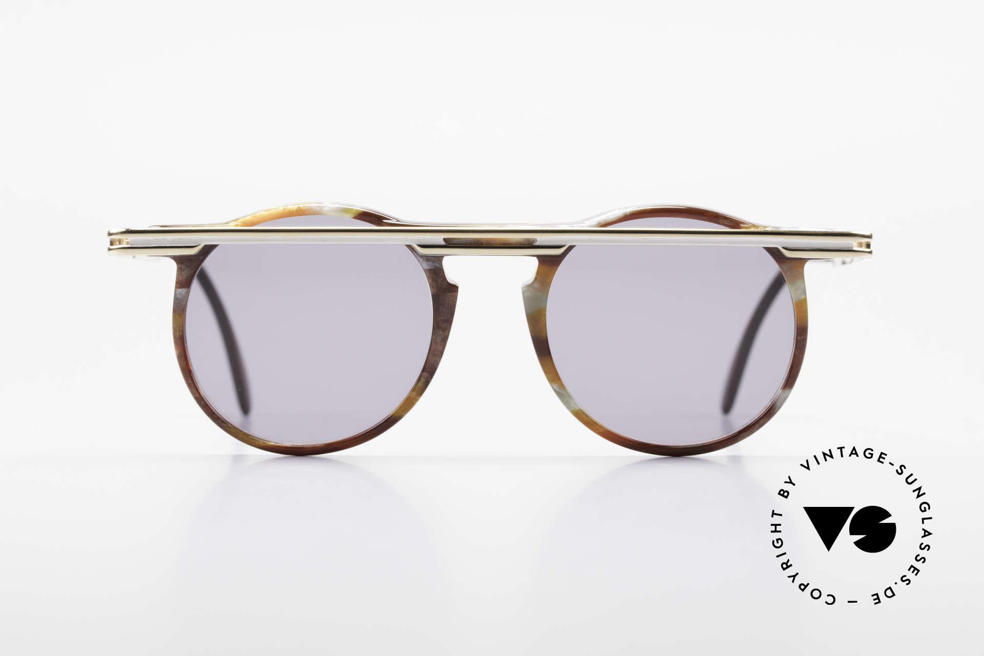 Cazal 648 Cari Zalloni Vintage Brille 90er, vom Designer Cari Zalloni getragen (siehe Booklet), Passend für Herren und Damen