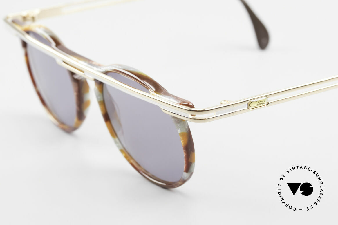 Cazal 648 Cari Zalloni Vintage Brille 90er, ein echtes Meisterstück (kostbar und einzigartig), Passend für Herren und Damen