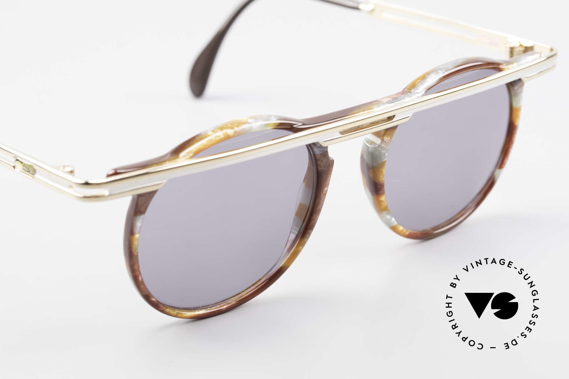 Cazal 648 Cari Zalloni Vintage Brille 90er, ungetragen (wie alle unsere vintage Cazal Brillen), Passend für Herren und Damen