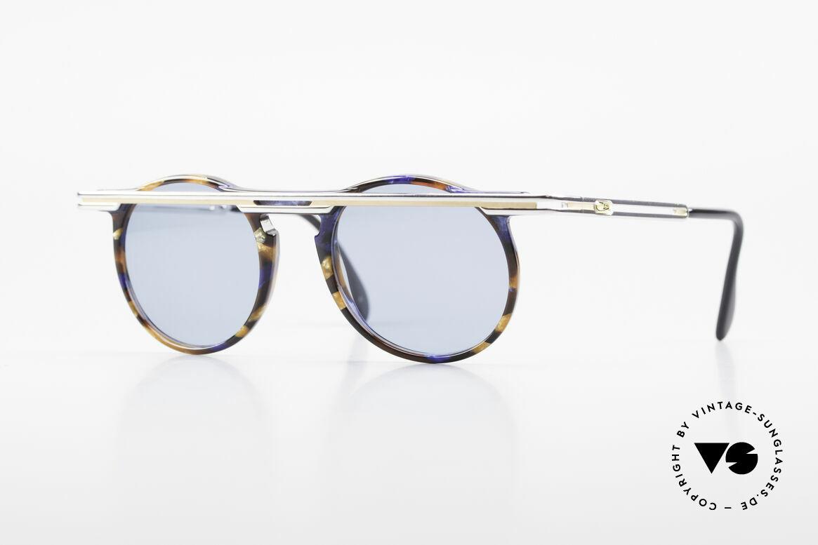 Cazal 648 Alte Cari Zalloni 90er Brille, außergerwöhnliche Cazal vintage Brille von 1990, Passend für Herren und Damen