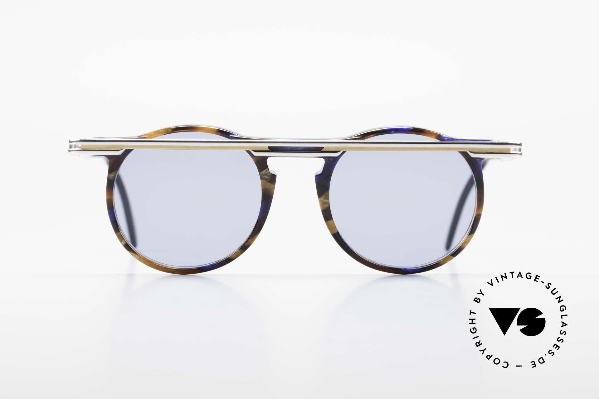 Cazal 648 Alte Cari Zalloni 90er Brille, vom Designer Cari Zalloni getragen (siehe Booklet), Passend für Herren und Damen