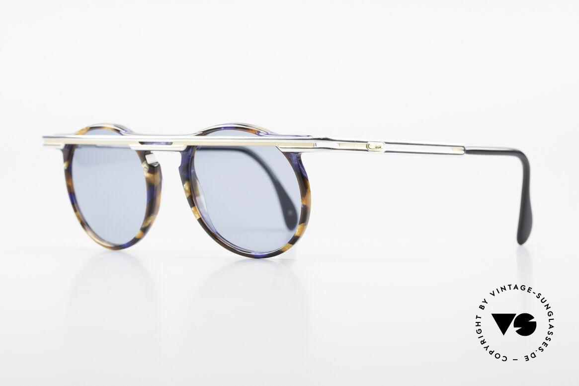Cazal 648 Alte Cari Zalloni 90er Brille, extrovertierte Rahmengestaltung in Farbe & Form, Passend für Herren und Damen