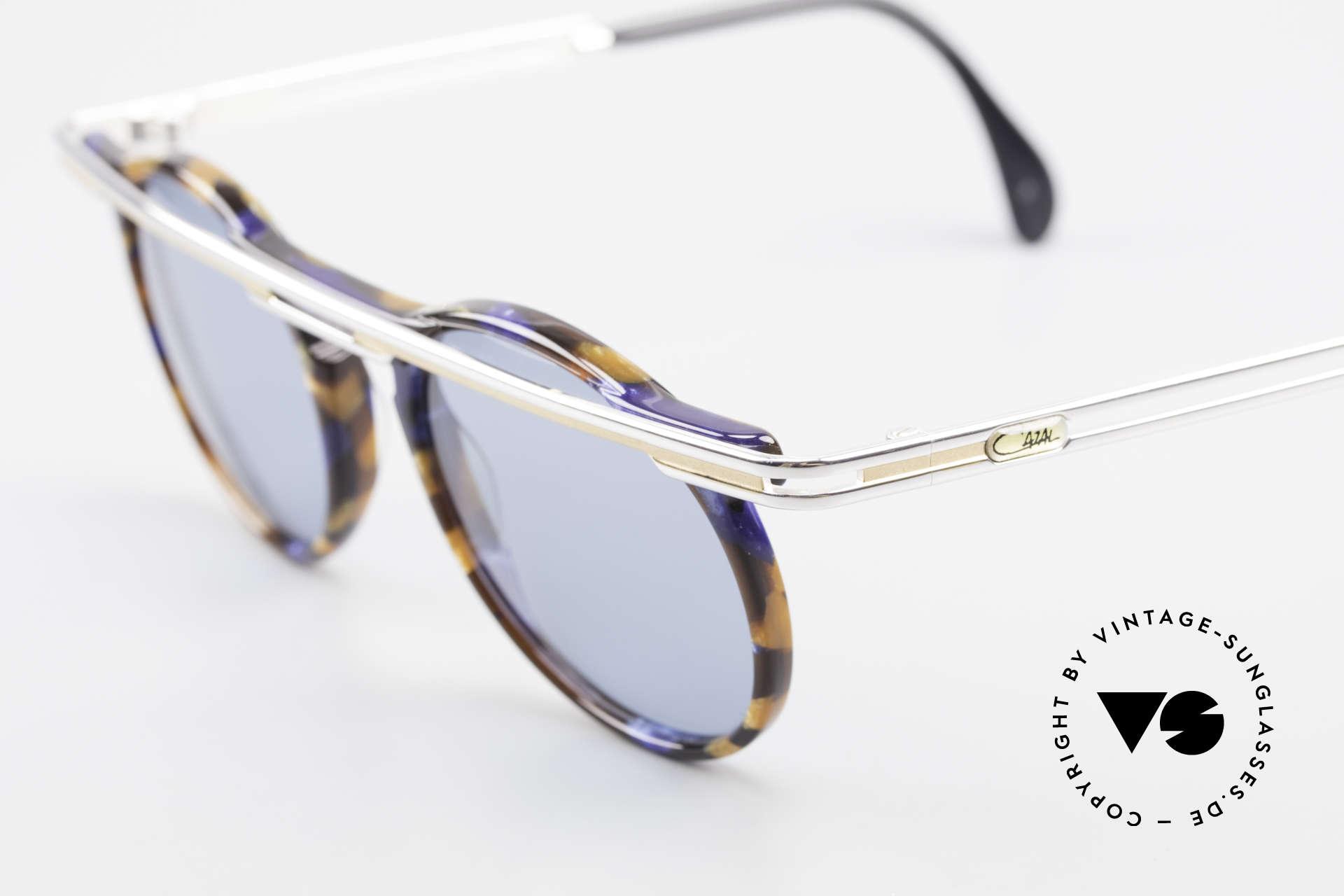 Cazal 648 Alte Cari Zalloni 90er Brille, ein echtes Meisterstück (kostbar und einzigartig), Passend für Herren und Damen