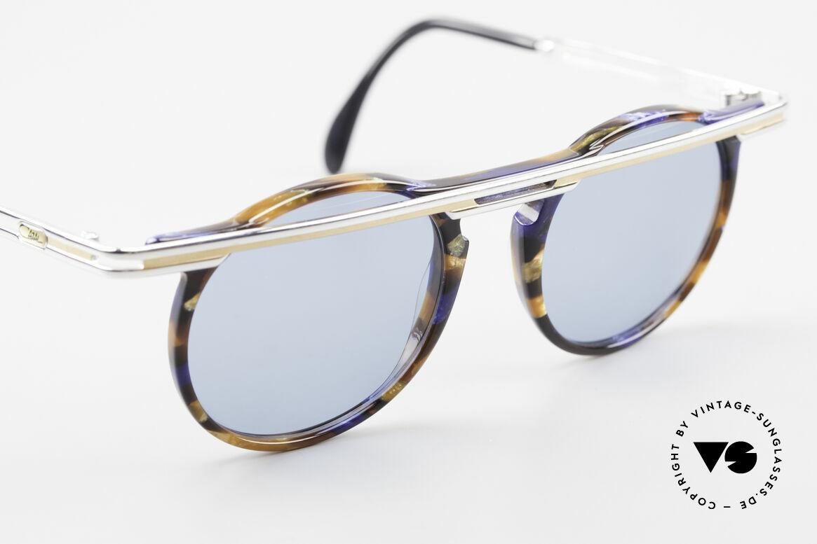 Cazal 648 Alte Cari Zalloni 90er Brille, ungetragen (wie alle unsere vintage Cazal Brillen), Passend für Herren und Damen