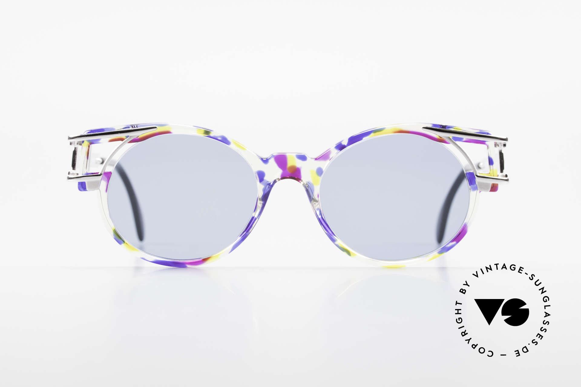 Cazal 353 Alte Cazal Hip Hop Brille 90er, damals schon als Hip-Hop-Brille schlechthin bekannt, Passend für Herren und Damen