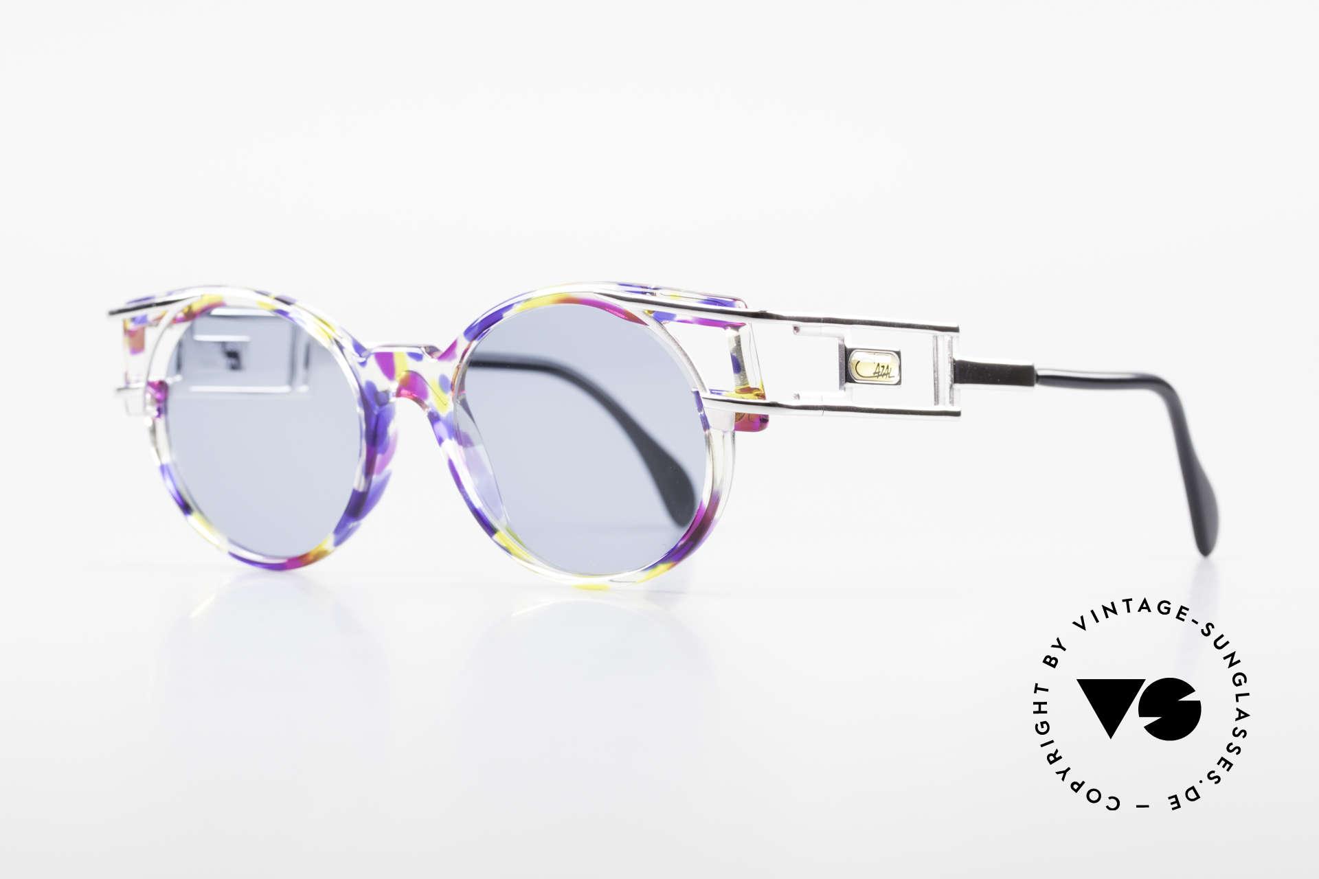 Cazal 353 Alte Cazal Hip Hop Brille 90er, Bügelform identisch dem legendären Cazal Mod. 958, Passend für Herren und Damen