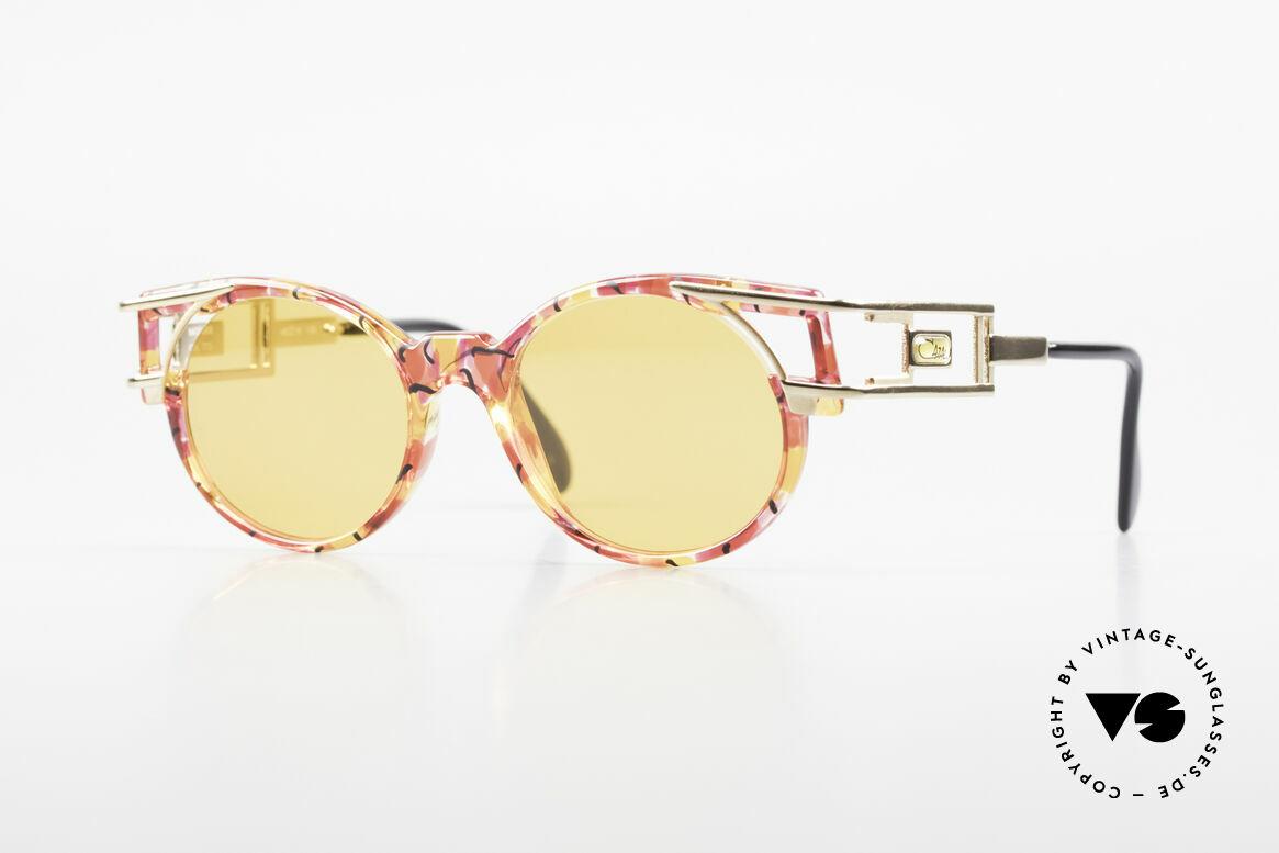 Cazal 353 90er Old School Sonnenbrille, alte vintage Cazal Designerbrille aus dem Jahre 1991, Passend für Herren und Damen