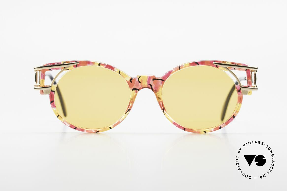 Cazal 353 90er Old School Sonnenbrille, damals schon als Hip-Hop-Brille schlechthin bekannt, Passend für Herren und Damen
