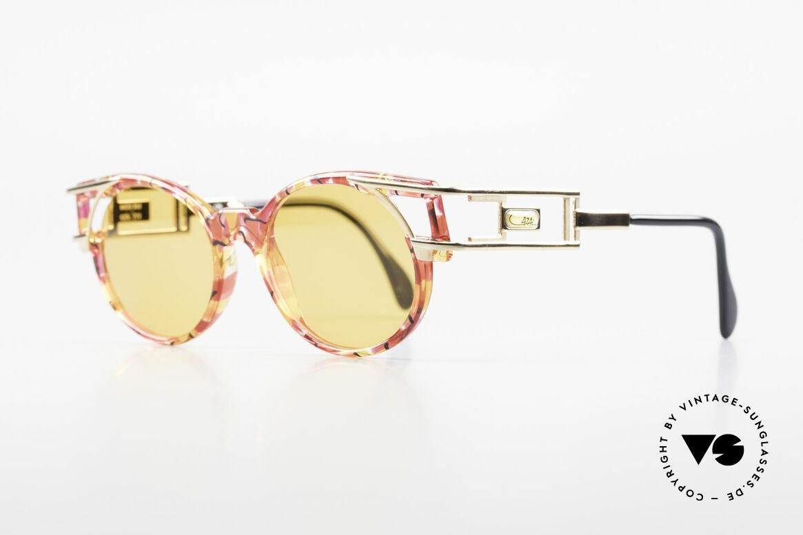 Cazal 353 90er Old School Sonnenbrille, Bügelform identisch dem legendären Cazal Mod. 958, Passend für Herren und Damen
