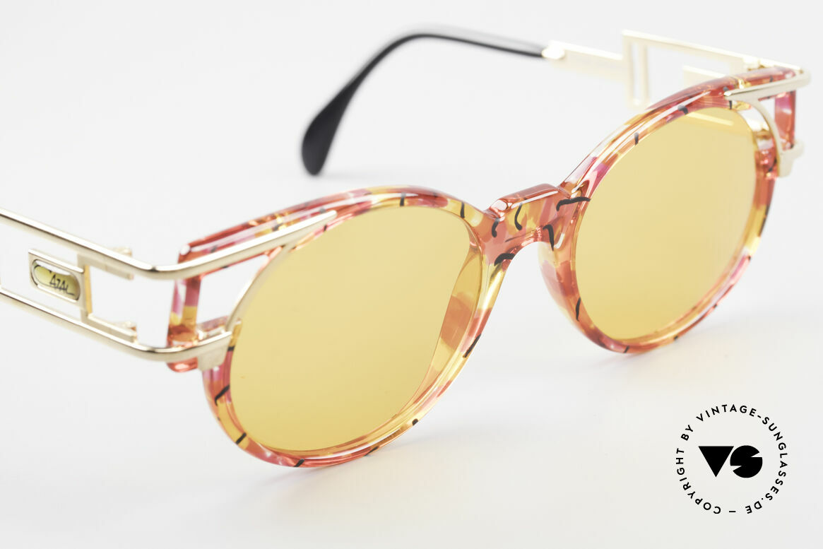 Cazal 353 90er Old School Sonnenbrille, Qualität & Farbkonzept = unverwechselbar 90er Cazal, Passend für Herren und Damen