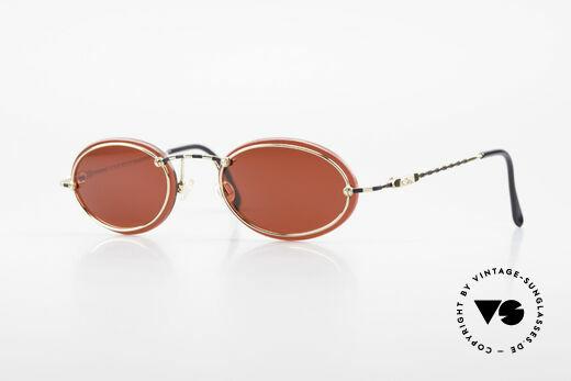 Cazal 770 90er Vintage Sonnenbrille Oval Details