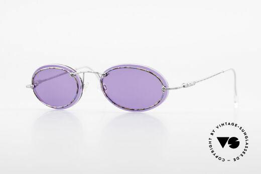 Cazal 770 Oval Vintage Sonnenbrille 90er Details