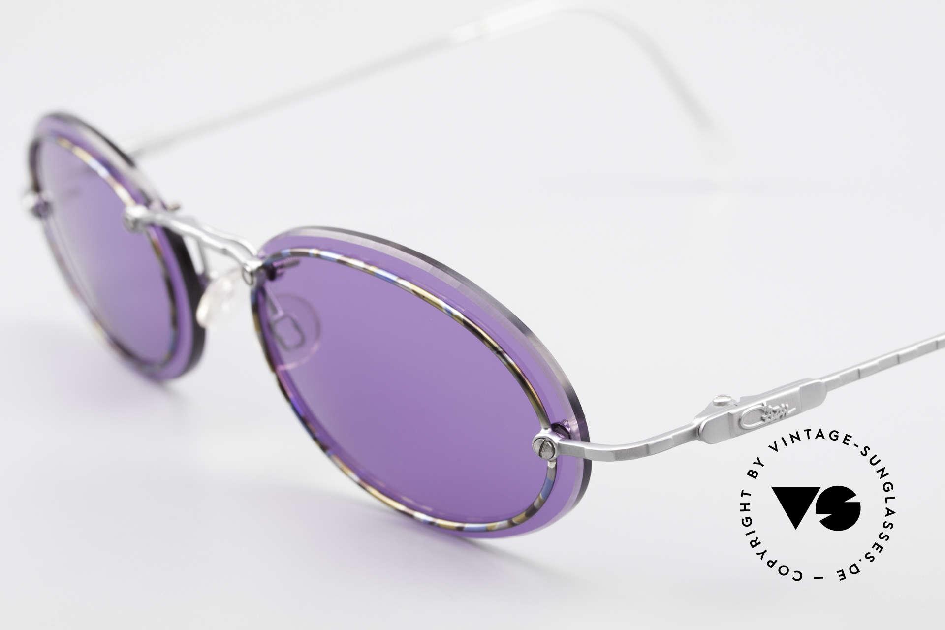 Cazal 770 Oval Vintage Sonnenbrille 90er, ungetragen (wie alle unsere vintage Designklassiker), Passend für Herren und Damen