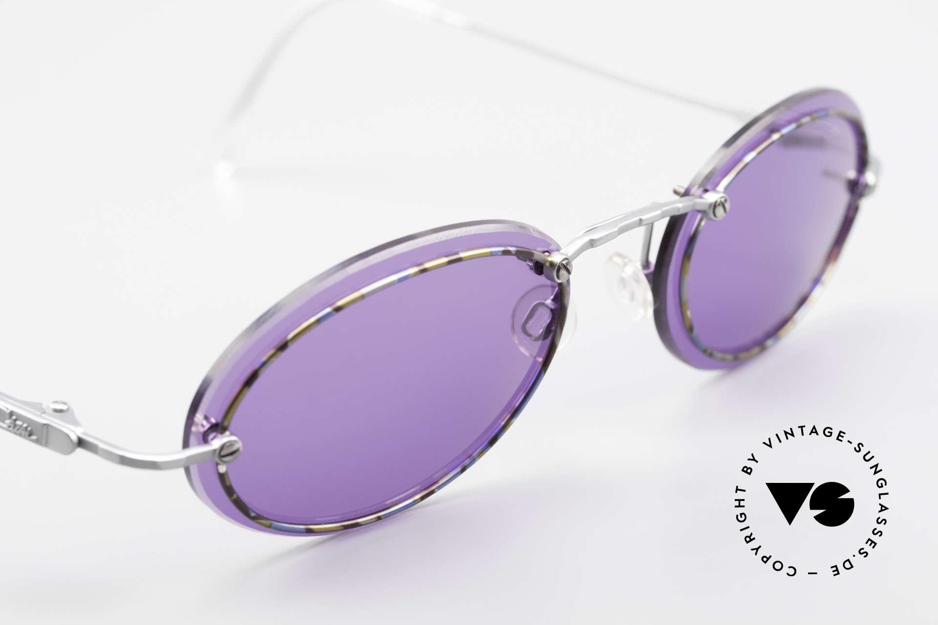 Cazal 770 Oval Vintage Sonnenbrille 90er, KEINE Retrobrille, sondern ein echtes 90er ORIGINAL, Passend für Herren und Damen