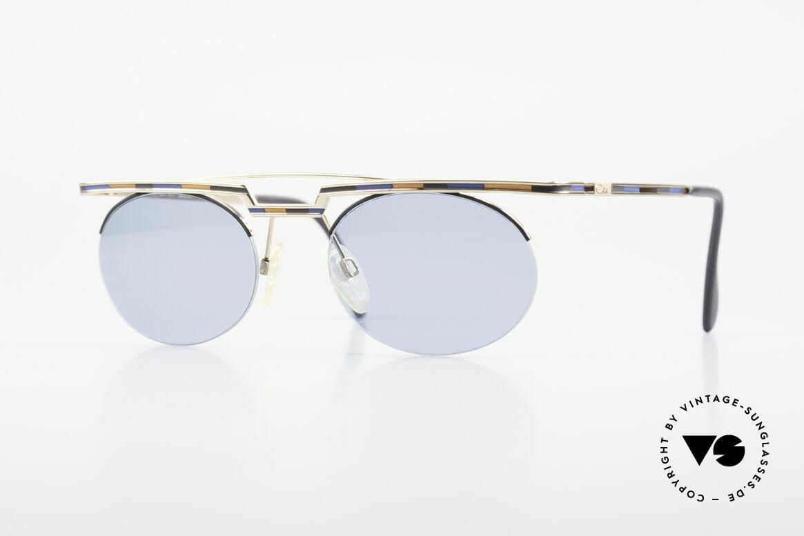 Cazal 758 Original 90er Sonnenbrille, interessante CAZAL vintage Sonnenbrille von 1997, Passend für Herren und Damen