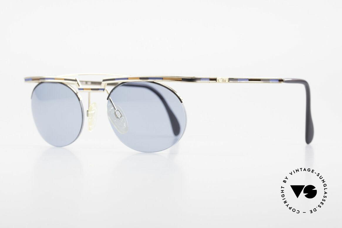 Cazal 758 Original 90er Sonnenbrille, aufwändige Lackierung (typisch für die alten Cazals), Passend für Herren und Damen