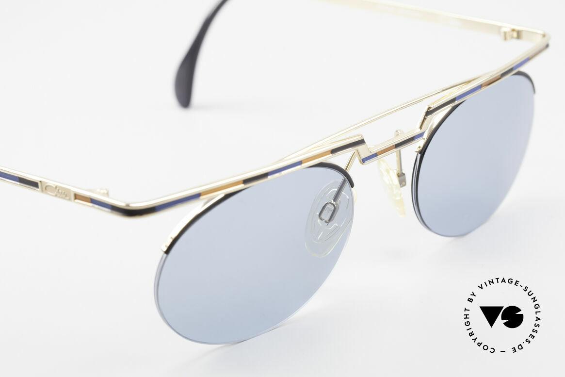 Cazal 758 Original 90er Sonnenbrille, fühlbare Top-Qualität und Komfort (made in Germany), Passend für Herren und Damen