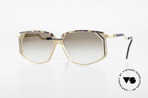 Cazal 346 Hip Hop Vintage Sonnenbrille Details