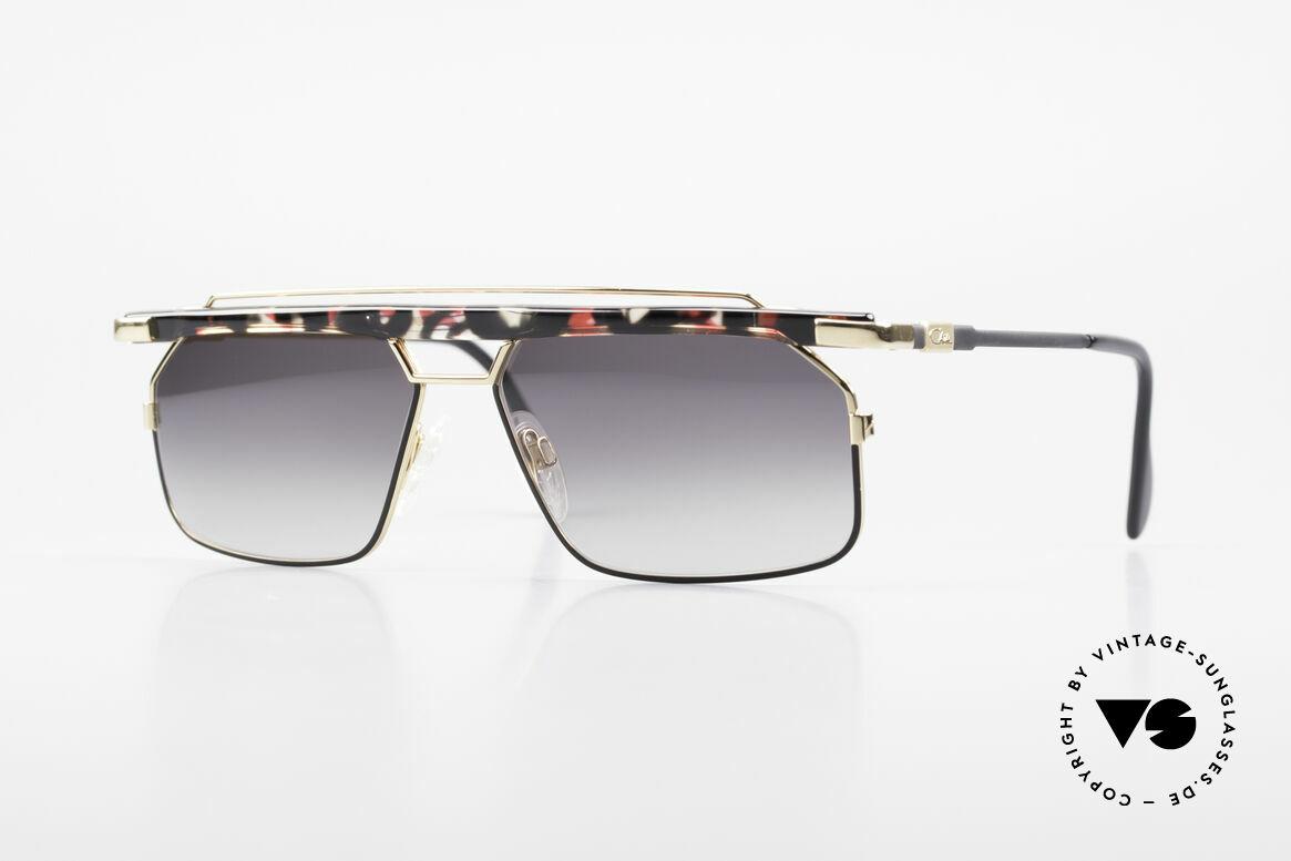 Cazal 752 Rare Vintage Sonnenbrille 90er, sehr markante CAZAL Herren-Brille von 1993/1994, Passend für Herren