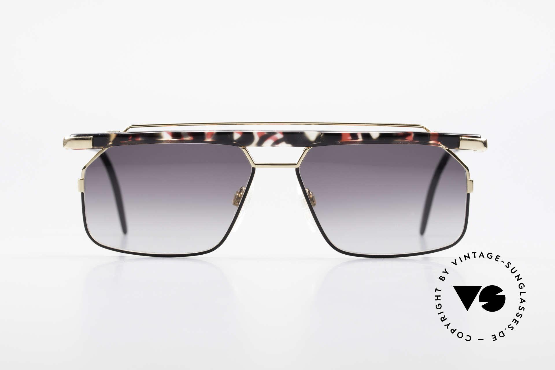 Cazal 752 Rare Vintage Sonnenbrille 90er, eines der letzten echten CAri ZALloni (RIP) Modelle, Passend für Herren