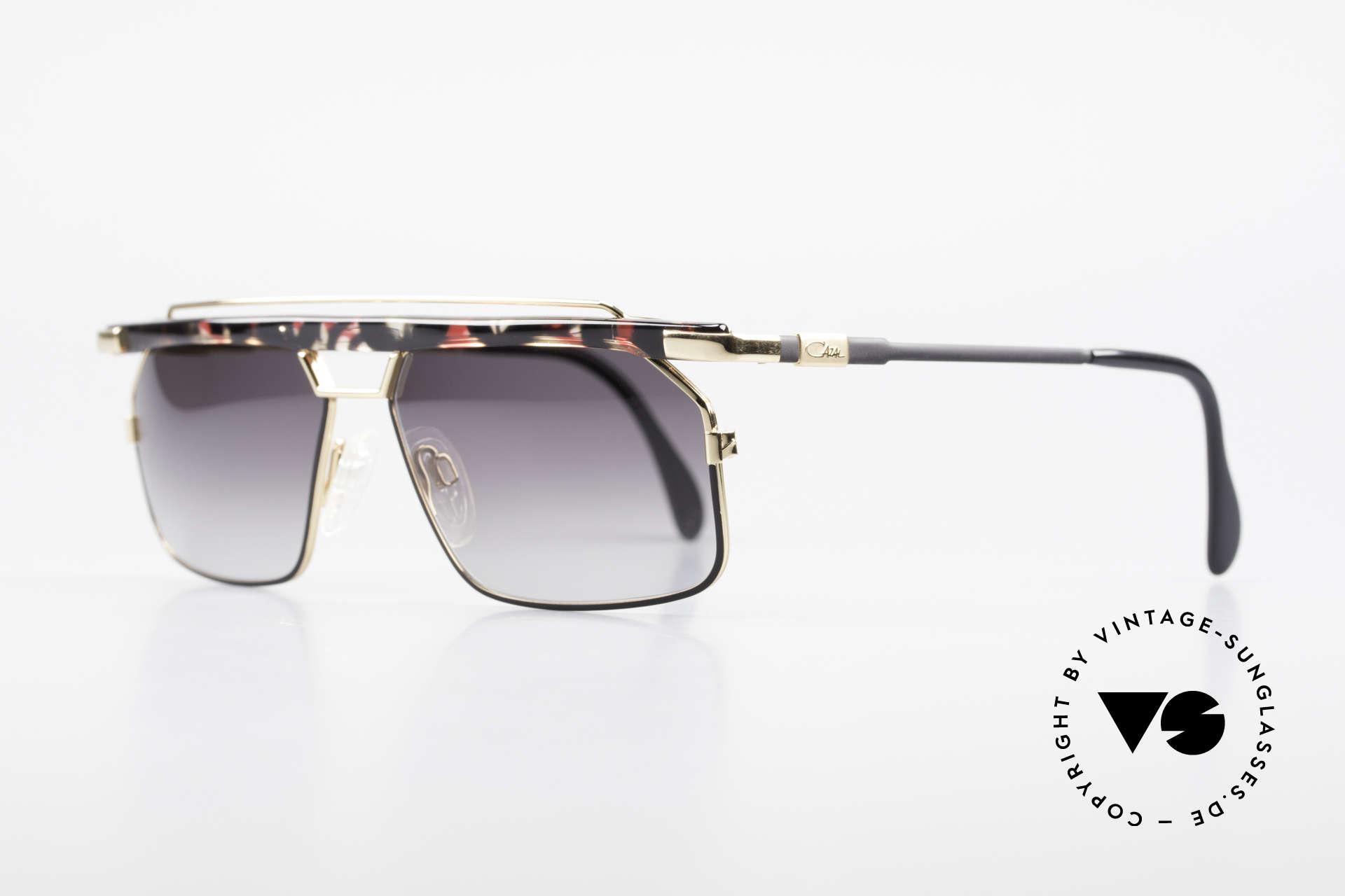Cazal 752 Rare Vintage Sonnenbrille 90er, extrem selten, da nur in kleiner Stückzahl produziert, Passend für Herren