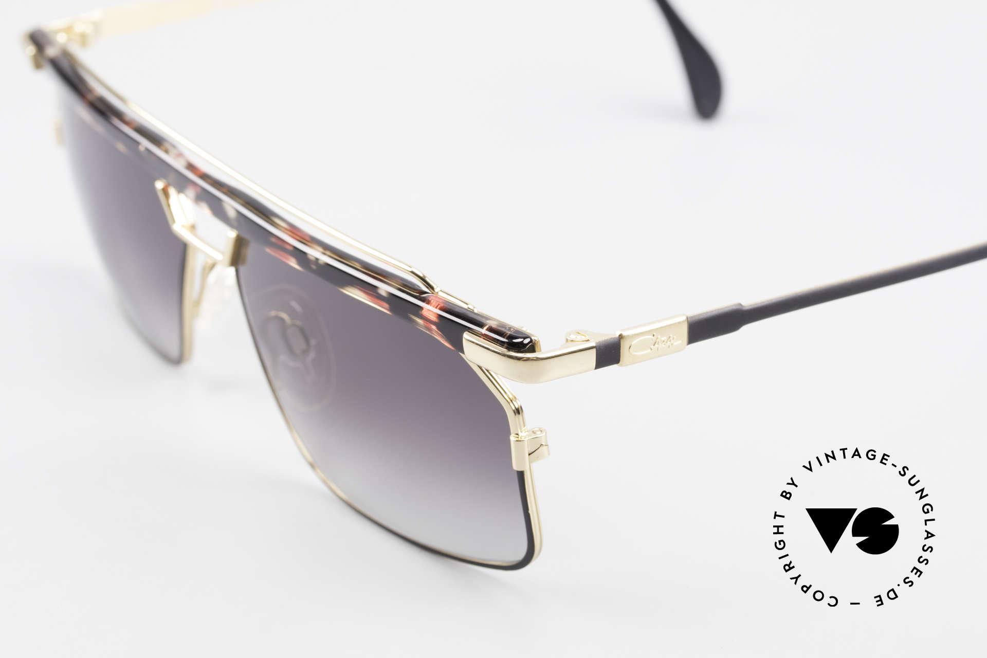 Cazal 752 Rare Vintage Sonnenbrille 90er, tolle Metallarbeiten und außergewöhnlicher Look, Passend für Herren