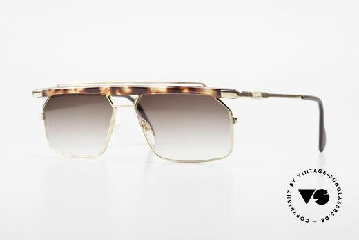 Cazal 752 Markante Vintage Herrenbrille Details
