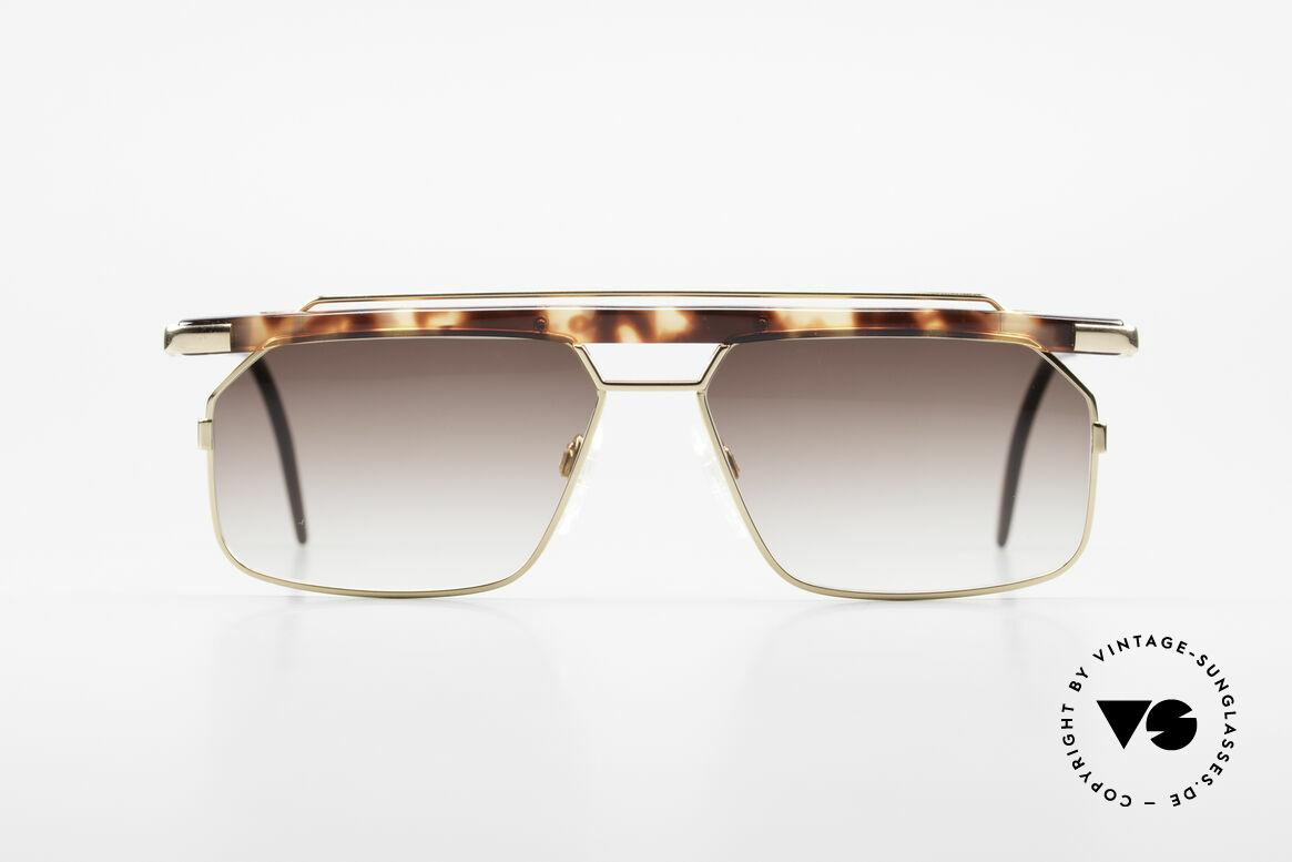 Cazal 752 Markante Vintage Herrenbrille, eines der letzten echten CAri ZALloni (RIP) Modelle, Passend für Herren