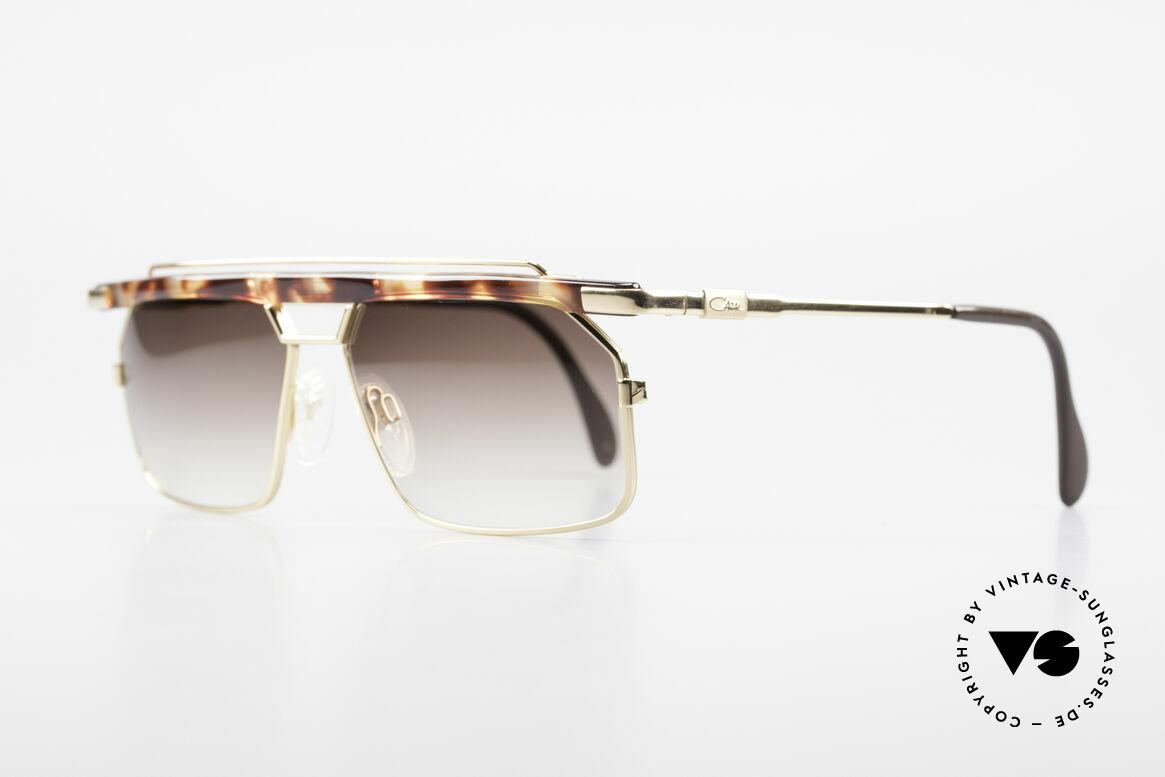 Cazal 752 Markante Vintage Herrenbrille, extrem selten, da nur in kleiner Stückzahl produziert, Passend für Herren
