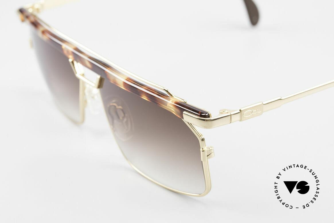 Cazal 752 Markante Vintage Herrenbrille, tolle Metallarbeiten und außergewöhnlicher Look, Passend für Herren