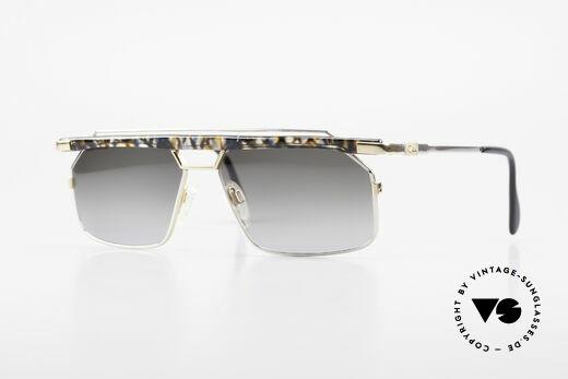 Cazal 752 Rare 90er Vintage Sonnenbrille Details