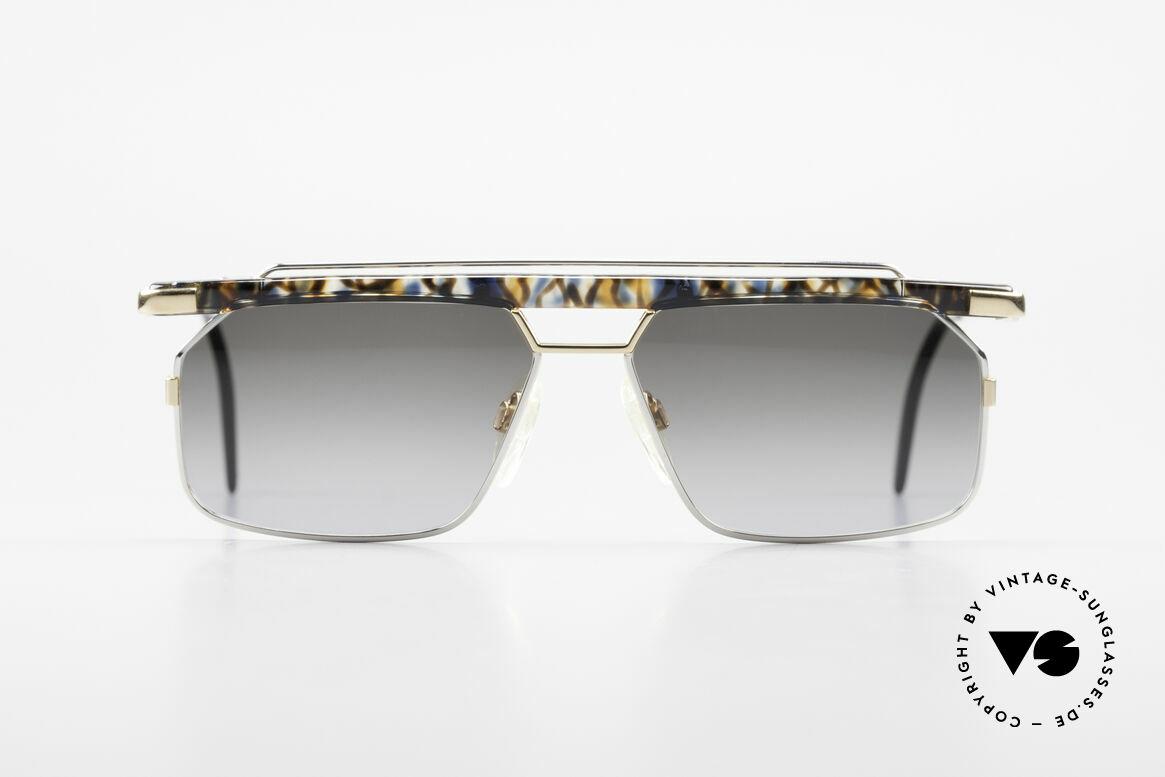 Cazal 752 Rare 90er Vintage Sonnenbrille, eines der letzten echten CAri ZALloni (RIP) Modelle, Passend für Herren