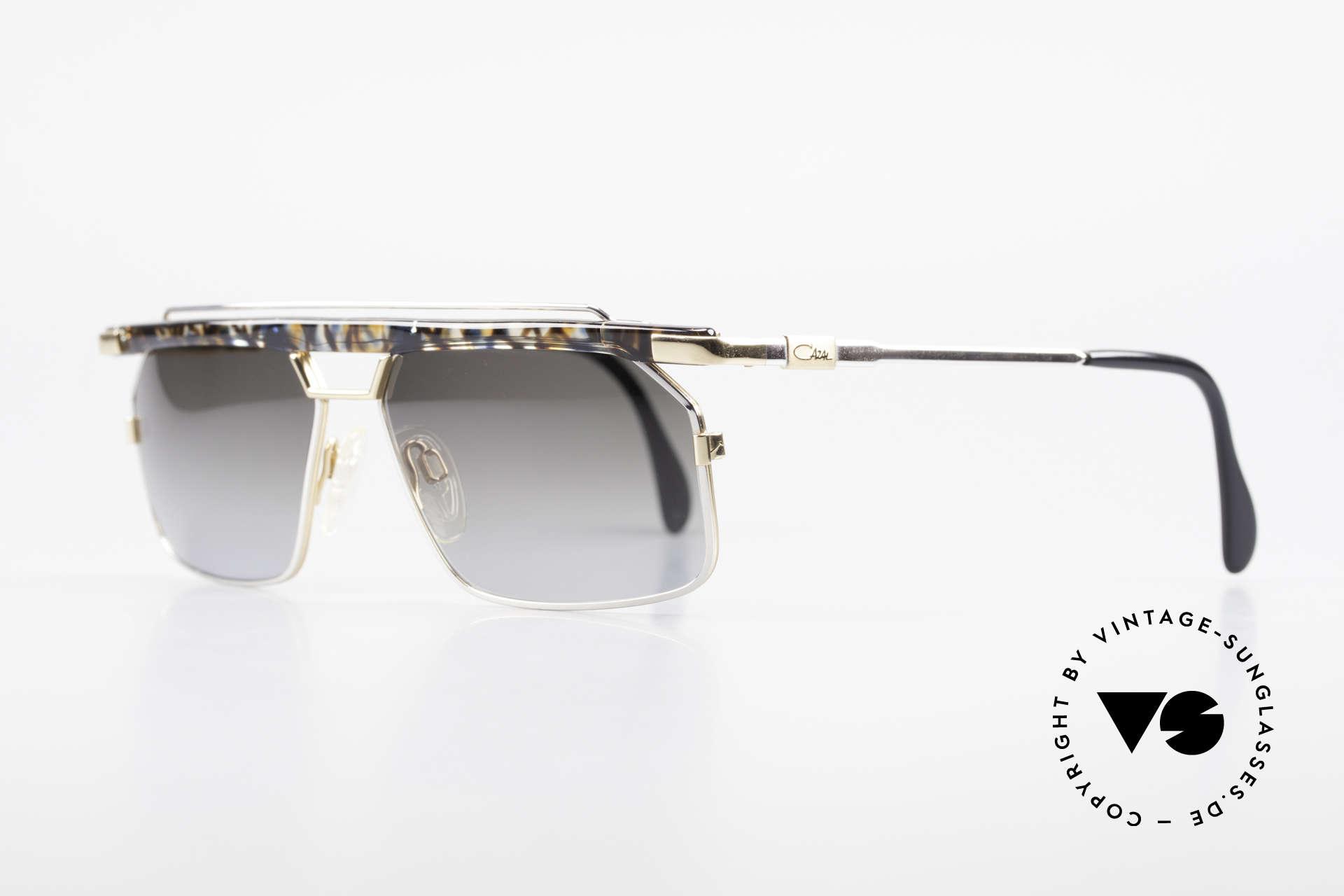Cazal 752 Rare 90er Vintage Sonnenbrille, extrem selten, da nur in kleiner Stückzahl produziert, Passend für Herren