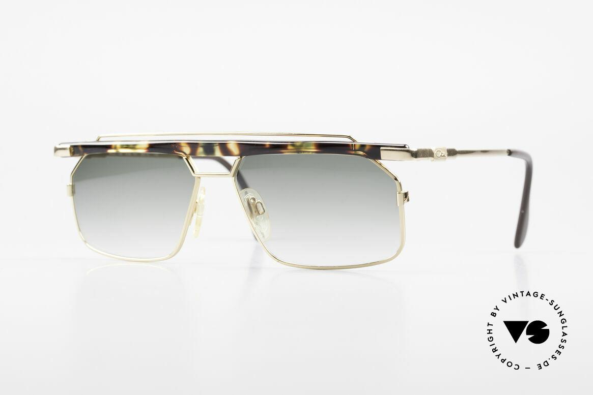 Cazal 752 90er Vintage Sonnenbrille Rar, sehr markante CAZAL Herren-Brille von 1993/1994, Passend für Herren