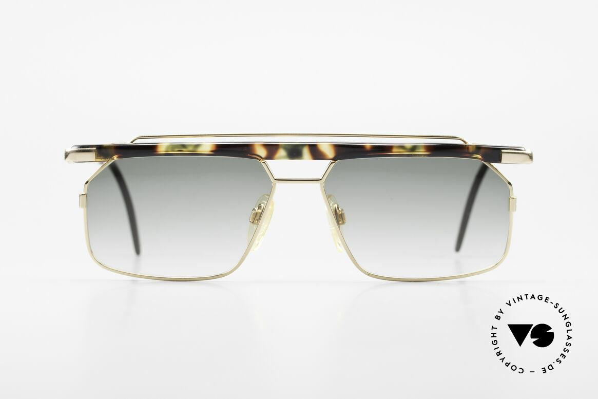 Cazal 752 90er Vintage Sonnenbrille Rar, eines der letzten echten CAri ZALloni (RIP) Modelle, Passend für Herren