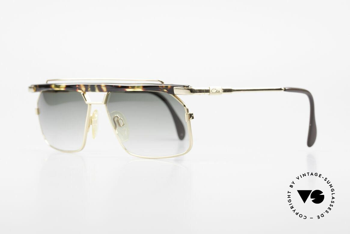 Cazal 752 90er Vintage Sonnenbrille Rar, extrem selten, da nur in kleiner Stückzahl produziert, Passend für Herren