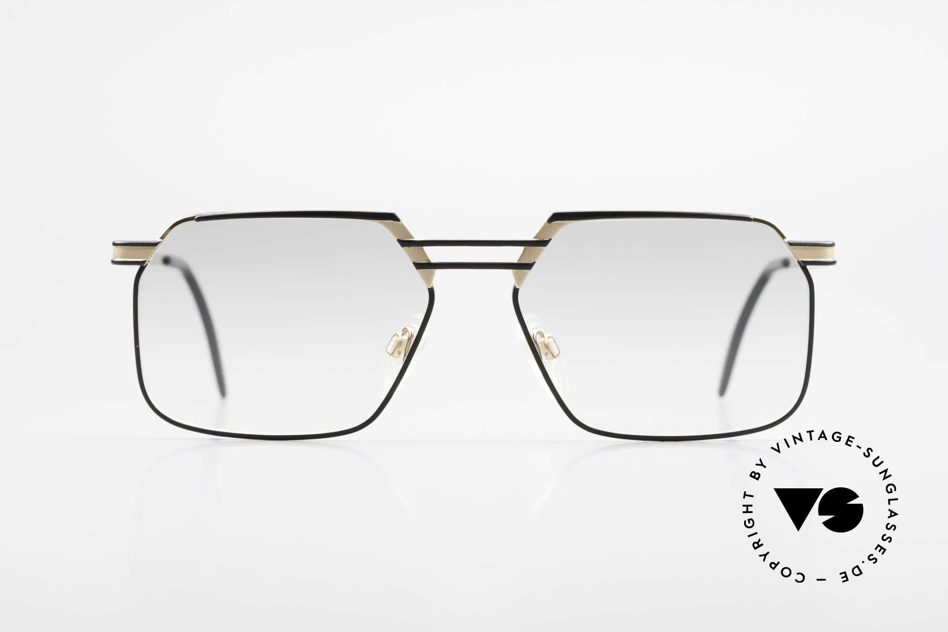 Cazal 760 Vintage 90er Qualitätsbrille, herausragende Top-Qualität; made in Germany, Passend für Herren