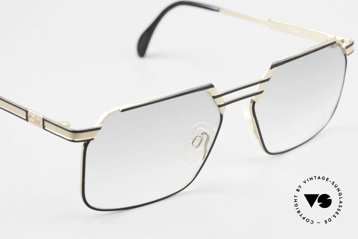 Cazal 760 Vintage 90er Qualitätsbrille, ungetragen, leicht grün getönte Gläser, L Gr. 59-17, Passend für Herren