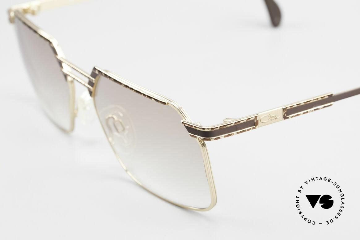 Cazal 760 Echt Vintage 90er Sonnenbrille, sehr markant und distinguiert; eben orig. CAZAL, Passend für Herren