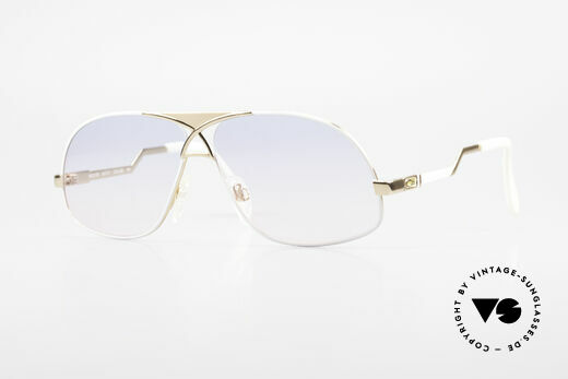 Cazal 737 Vintage Aviator Sonnenbrille Details
