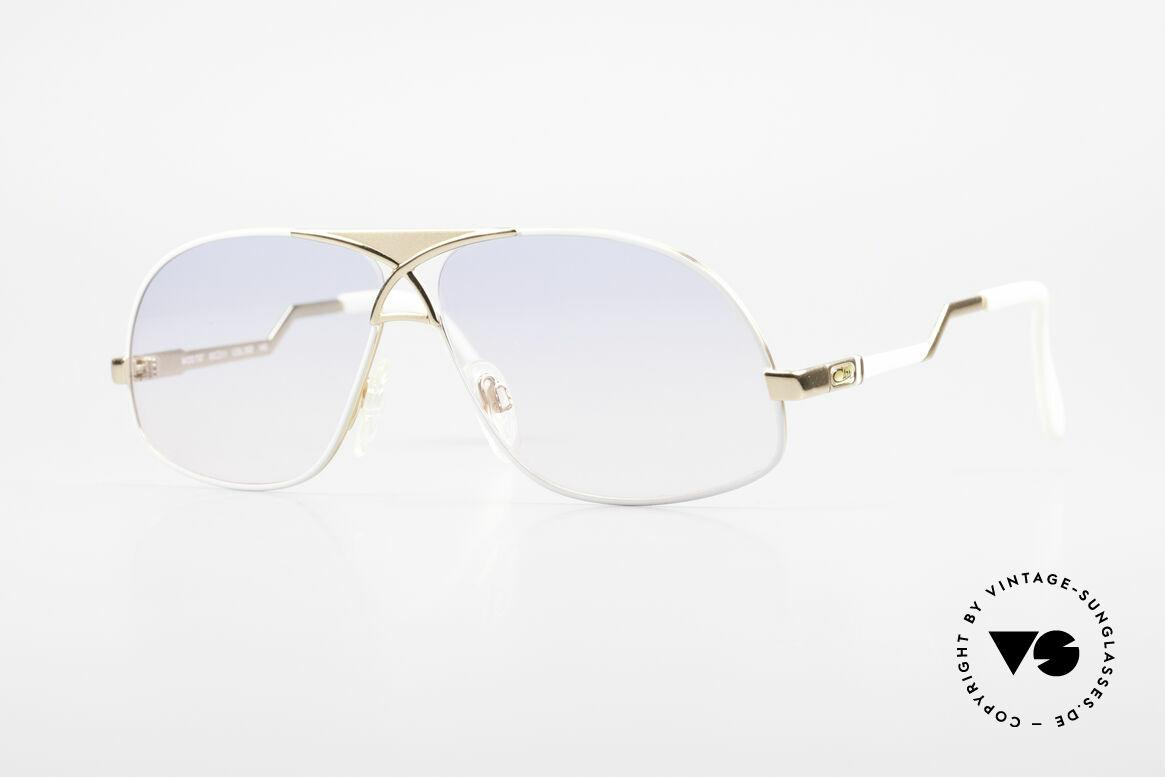 Cazal 737 Vintage Aviator Sonnenbrille, legendäre vintage Brille von Cazal aus den 1980ern, Passend für Herren