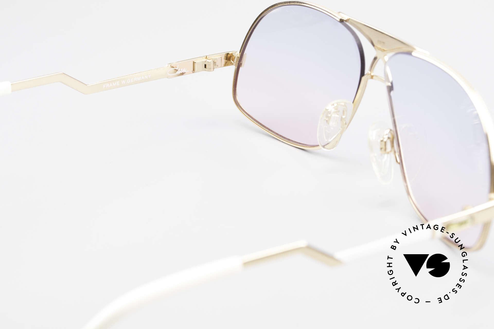 Cazal 737 Vintage Aviator Sonnenbrille, Größe: medium, Passend für Herren