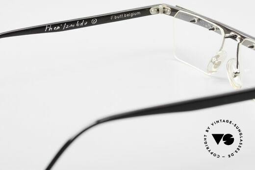 Theo Belgium Lambeta 7 Echte Büffelhorn Fassung, sozusagen: vintage Brillenfassung mit Symbol-Charakter, Passend für Herren