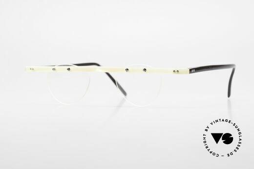 Theo Belgium Fhefa Rare 90er Büffelhorn Brille Details