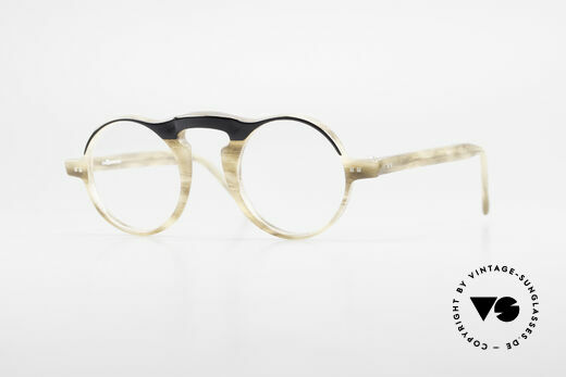 L.A. Eyeworks HITO 101 Vintage Brille Panto Style Details