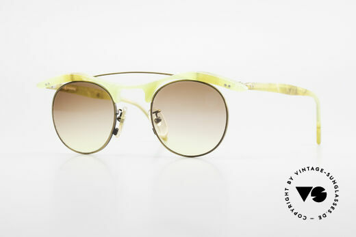 L.A. Eyeworks YANG 670 Vintage Sonnenbrille No Retro Details