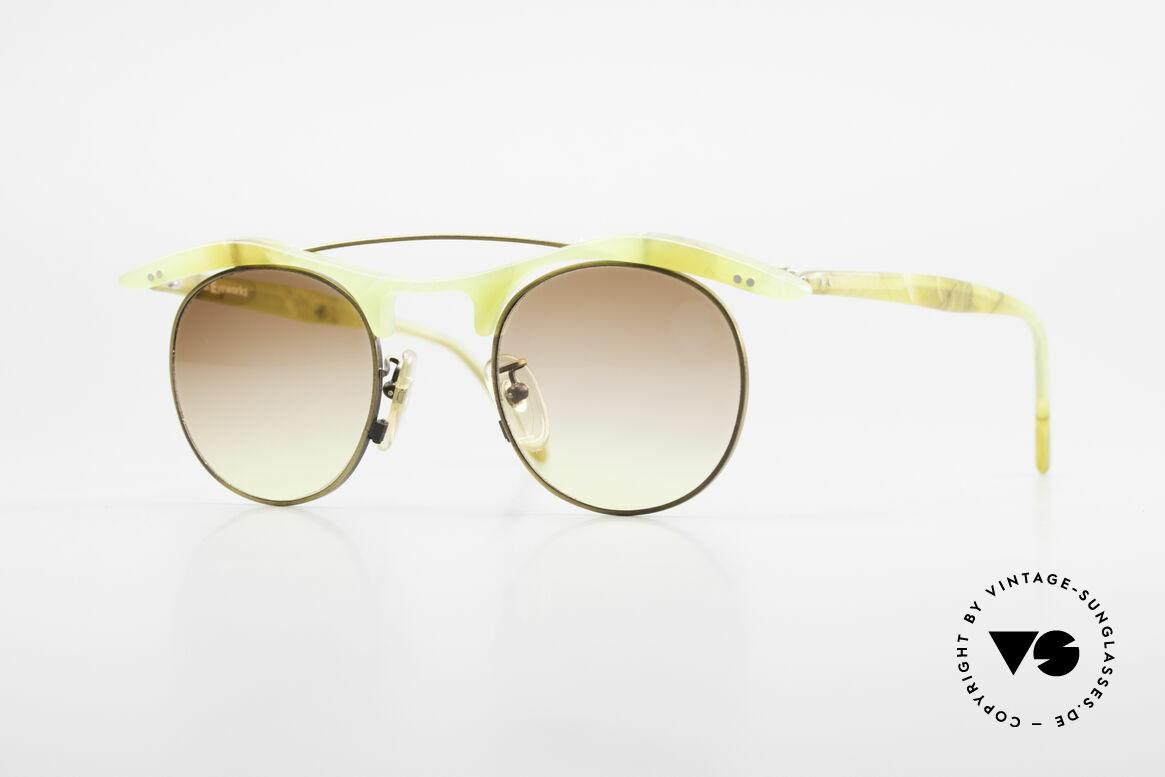 L.A. Eyeworks YANG 670 Vintage Sonnenbrille No Retro, L.A. Eyeworks: Kleinstserien aparter Brillen-Modelle, Passend für Herren und Damen