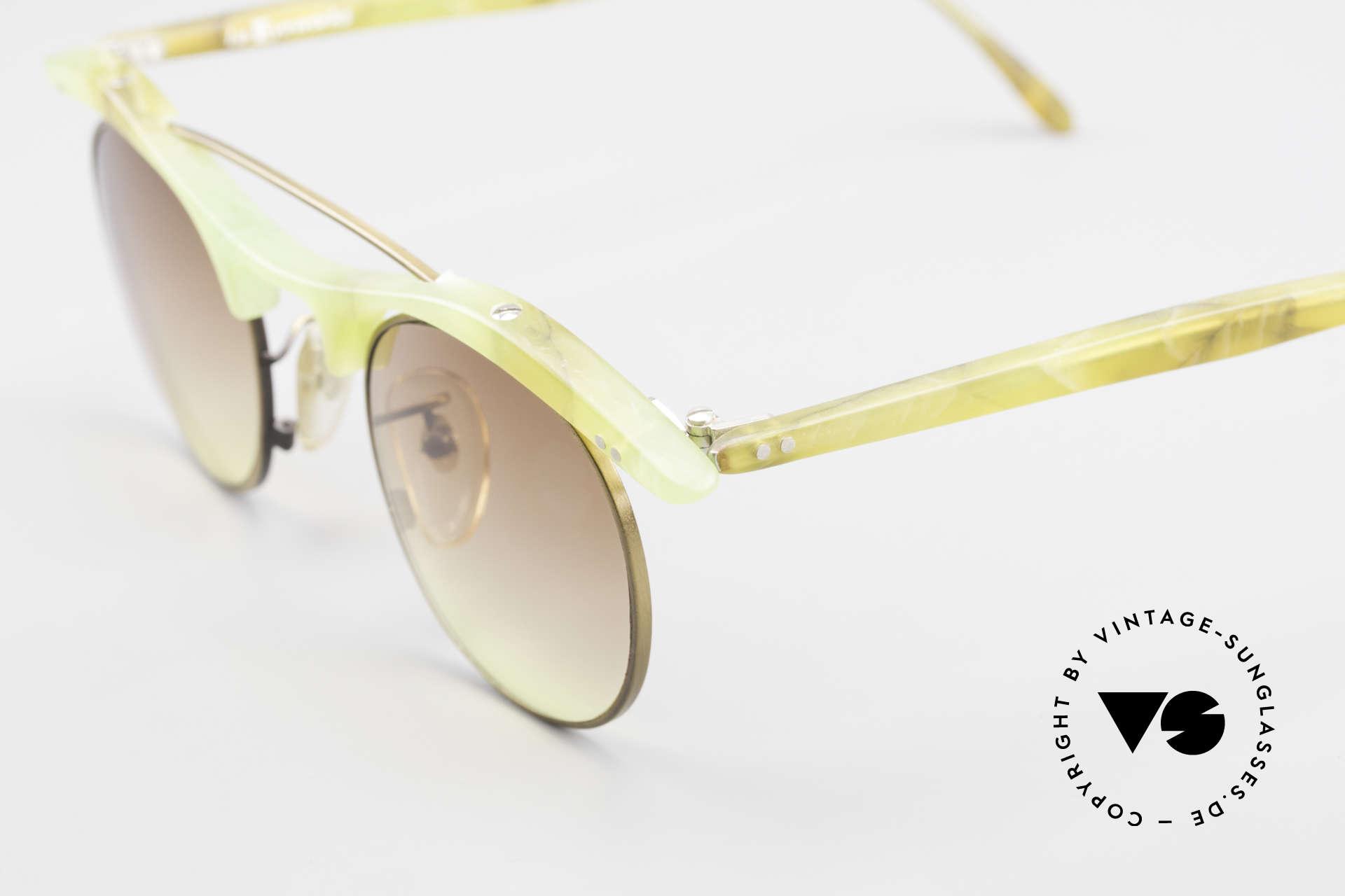 L.A. Eyeworks YANG 670 Vintage Sonnenbrille No Retro, KEINE Retromode; ein altes Original (Los Angeles '89), Passend für Herren und Damen